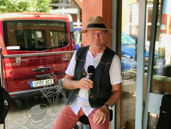 Bernd Winkler Kerkow Angermünde, DJ Uckermark, Familien-DJ, Party-DJ, Annette Polle, Eiscafé Nico in Templin