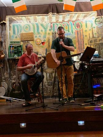 Kalender kaufen, Bernd Winkler Kerkow, Bernd Winkler Angermünde, The Molly Malone in Puerto de la Cruz