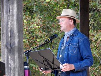 Bernd Winkler Kerkow Angermünde, Moderator Landin, Garde Landin, Dorffeste Uckermark