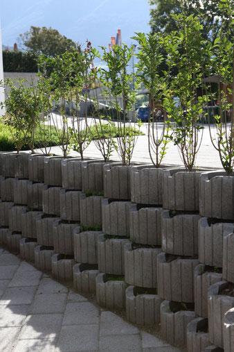 Böschungssteine für die Befestigung von Böschungen