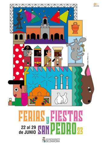 Feria y Fiestas de San Pedro en Zamora