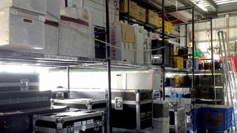 倉庫照明スペース