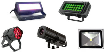 LED・カラーレーザー | 照明機材レンタル-株式会社RKB
