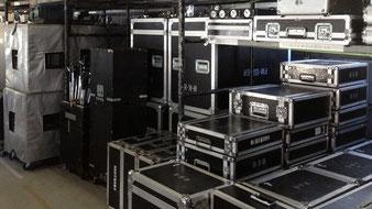 倉庫音響スペース