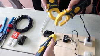 電気工事安全講習の様子3