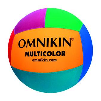 Ballon de kin-ball Omnikin multicolore à acheter pas cher. Ballon de jeu léger de kin ball multicolore de la marque Omnikin.