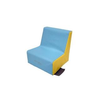 Aménagement coin enfant avec fauteuil 1 place 17 cm en mousse pour enfants. Matériel en mousse de qualité Sarneige à acheter pas cher.