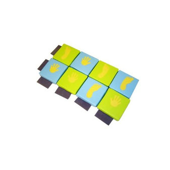 Kit jeu du droite gauche en mousse enfants Sarneige. Kit jeu du droite-gauche matériel de modules en kit et en mousse enfants Sarneige à acheter pas cher.