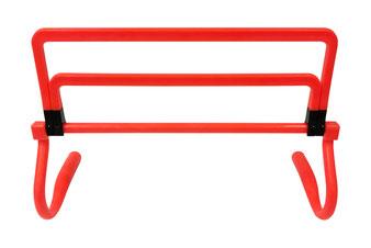 Haie 3 hauteurs pour jeux d'athlétisme et l'entraînement des enfants. Haie de saut 3 hauteurs 16, 23, 30cm à acheter pas cher.