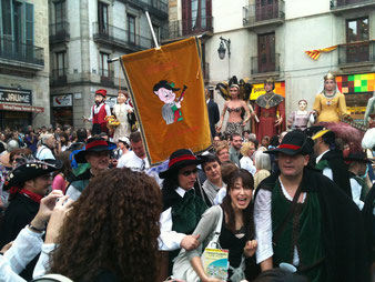 Барселона. Праздники excursii