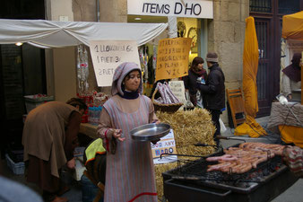 Ярмарка в Вике гид в Барселоне