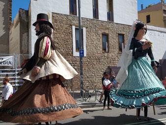 праздники Мерсе в Барселоне