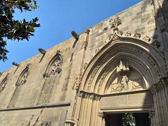Барселона. Кафедрал. Фасад Святой Евлалии