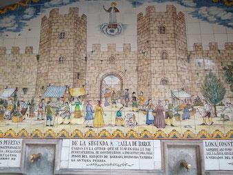 Барсино, внутри древних стен, экскурсии