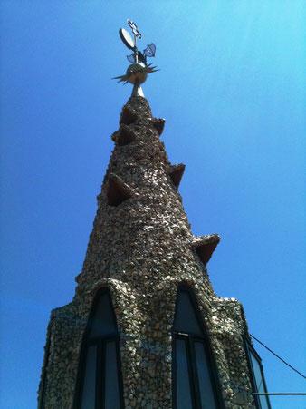 Дворец Гуэля крыша