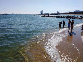 26 сентября 2019. Пляжи Барселоны