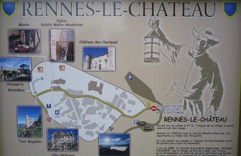 экскурсии в Ренн-Лё-Шато. Rennes-le-Chateau