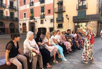 Пешеходные экскурсии пo историческому центру Барселоны.