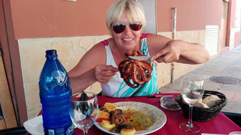 Барселона, морепродукты