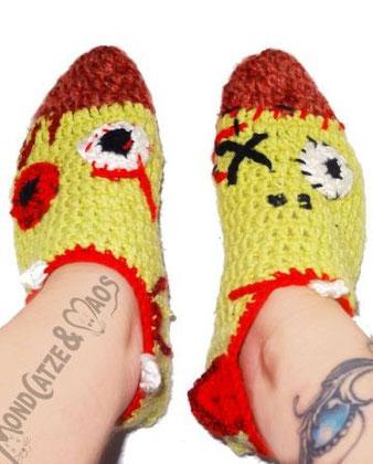zombie, socken, Füßlinge, socks