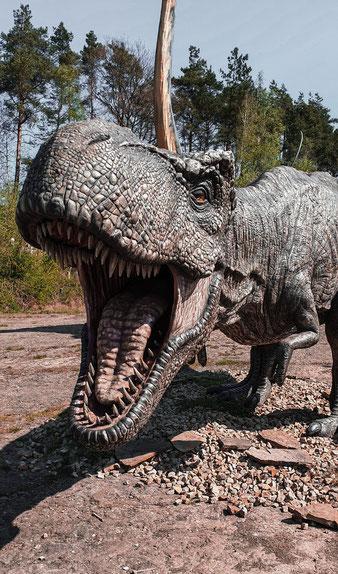 Dinosauriersafari - animatronischer Dinosaurierer