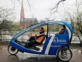 Hamburg by Rickshaw - Werbung & Promotion