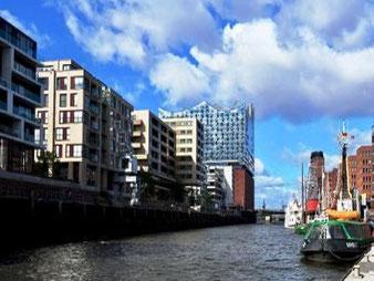 Hamburg by Rickshaw, Elbphilharmonie & Hafen 1rundfahrt