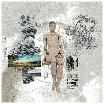 HUMAN BEING - collage numerique - 2020