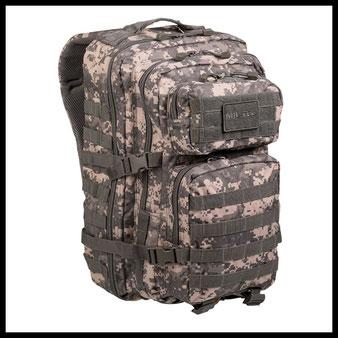 Outdoor Survival Ausrüstung Rucksack MIL-TEC Shop Prepper Selbstversorger Bushcraft