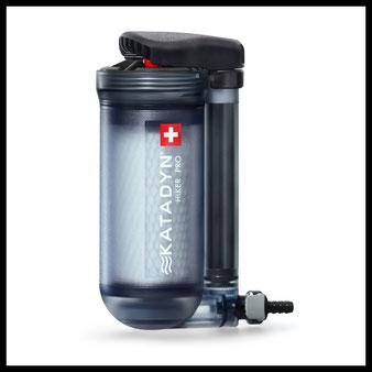 outdoor survival shop Wasseraufbereitung  Wasserfilter Katadyn Hiker Pro Filter selbstversorger prepper bushcraft