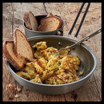 Outdoor Survival Nahrungsmittel Frühstück selbstversorger prepper bushcraft