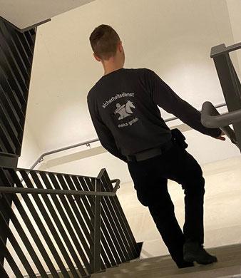 Objektschutz durch bewaffnete Bewachung