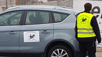 Objektschutz auf der Baustelle durch Bewachung