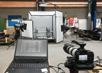 making of Produktfotografie