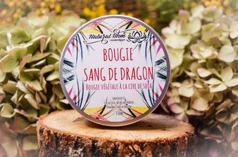 Bougie végétale cire de soja_Sang de dragon_NaturalOhm