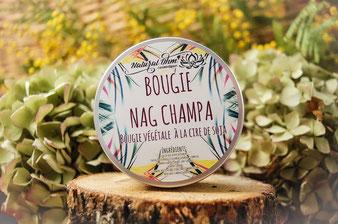 Bougie végétale cire de soja_Nag Champa_NaturalOhm