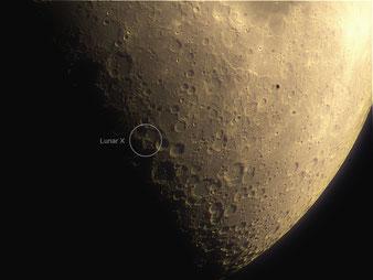 Lunar X, Werner X, Mond X