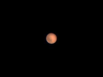 Mars am 25.7.2018