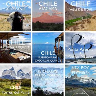 Reiseberichte CHILE & PATAGONIEN