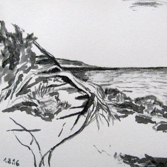 Skizze Formentera 1.3.2016