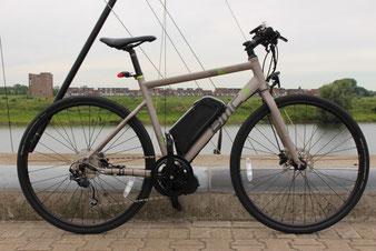 Brompton Vouwfiets met Pendix eDrive van FONebike Fiets Ombouwcentrum Nederland