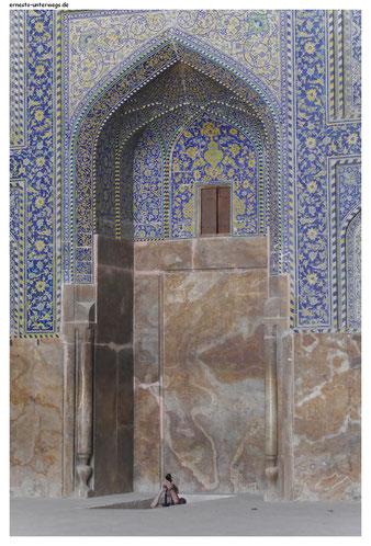 Heidnische Nutzung des Mihrab