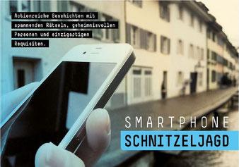 Smartphone Schnitzeljagd