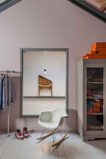 Кресло качалка эймс vitra