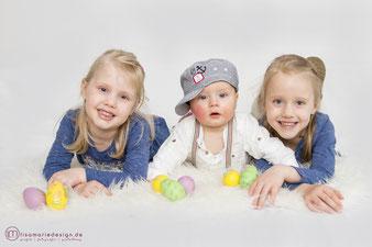 Fotoshooting für Ostern als Familienshooting