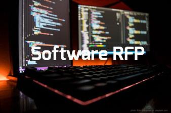 Software Ausschreibung & Software RFP