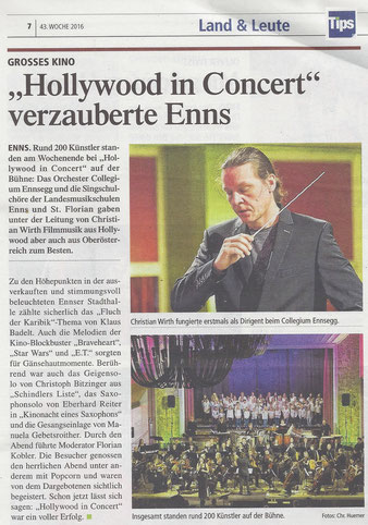 """Hollywood in concert"" 22.10.2016"