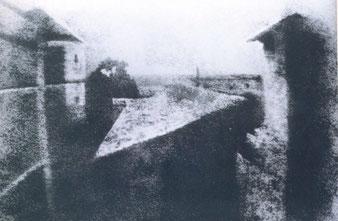 Die älteste Fotografie von Niepce 1826