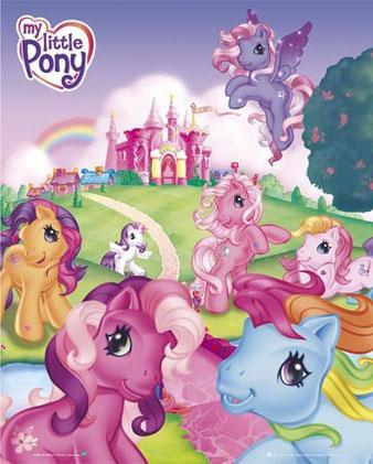 Mi pequeño Pony dibujos animados