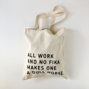 """ユーズドのトートバッグ「FIKALONDON.COM」 Used Tote Bag """"FIKALONDON.COM"""""""